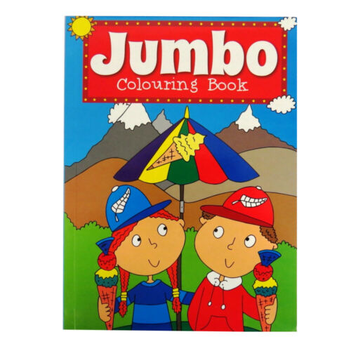 Size 270mm x 197mm My Jumbo Colouring Book 154 Pages 4 Different Kinds