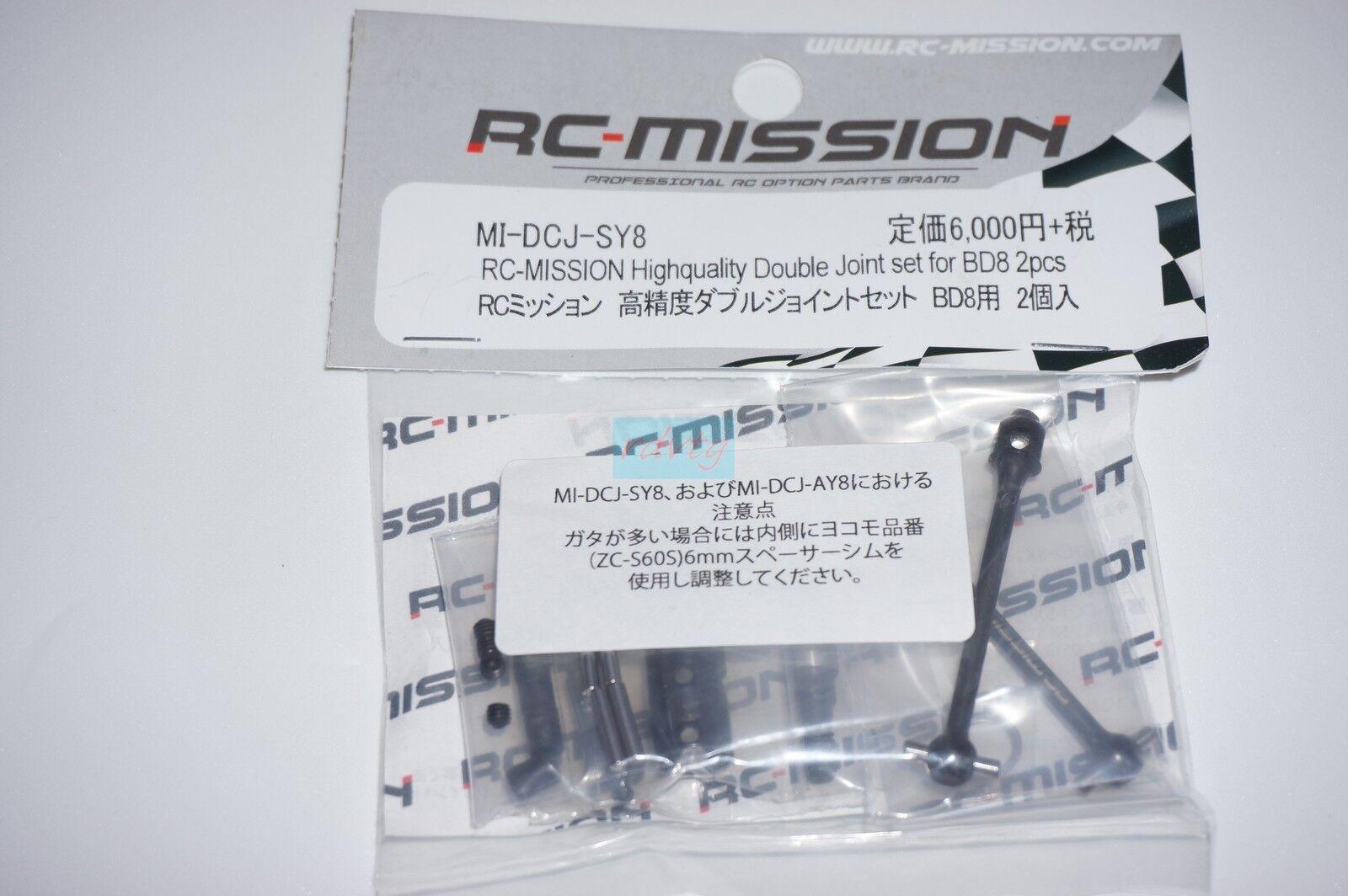 Yokomo BD8 Highquality Double Join Set/2pcs  RC-Mission/MI-DCJ-SY8