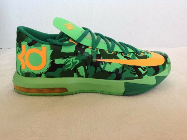 1193b5fd26b47 Nike KD VI 6 Easter Size 10.5 Green Kevin Durant Mens Basketball Shoe  599424-303
