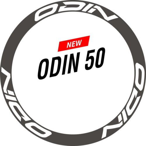 Two Wheel Sticker Set for ODIN 50 Road Bike Bicycle Cycling Race  Decal