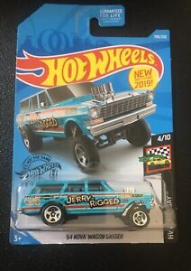 2019-Hot-Wheels-64-NOVA-WAGON-GASSER-HW-RACE-DAY-Series-4-10-1-64-198-250