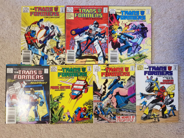 The Transformers Comics Magazines (Digest)!!!