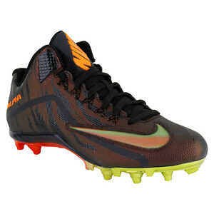 NIKE ALPHA PRO 2 TD PP 3//4 MID MEN/'S FOOTBALL CLEATS 725223-061 MSRP $110