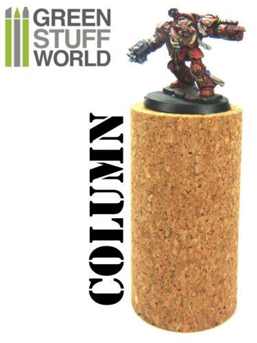 pour Resine Verde Fimo Sculpey COLONNE en liège pour fixer armatures 1 unité