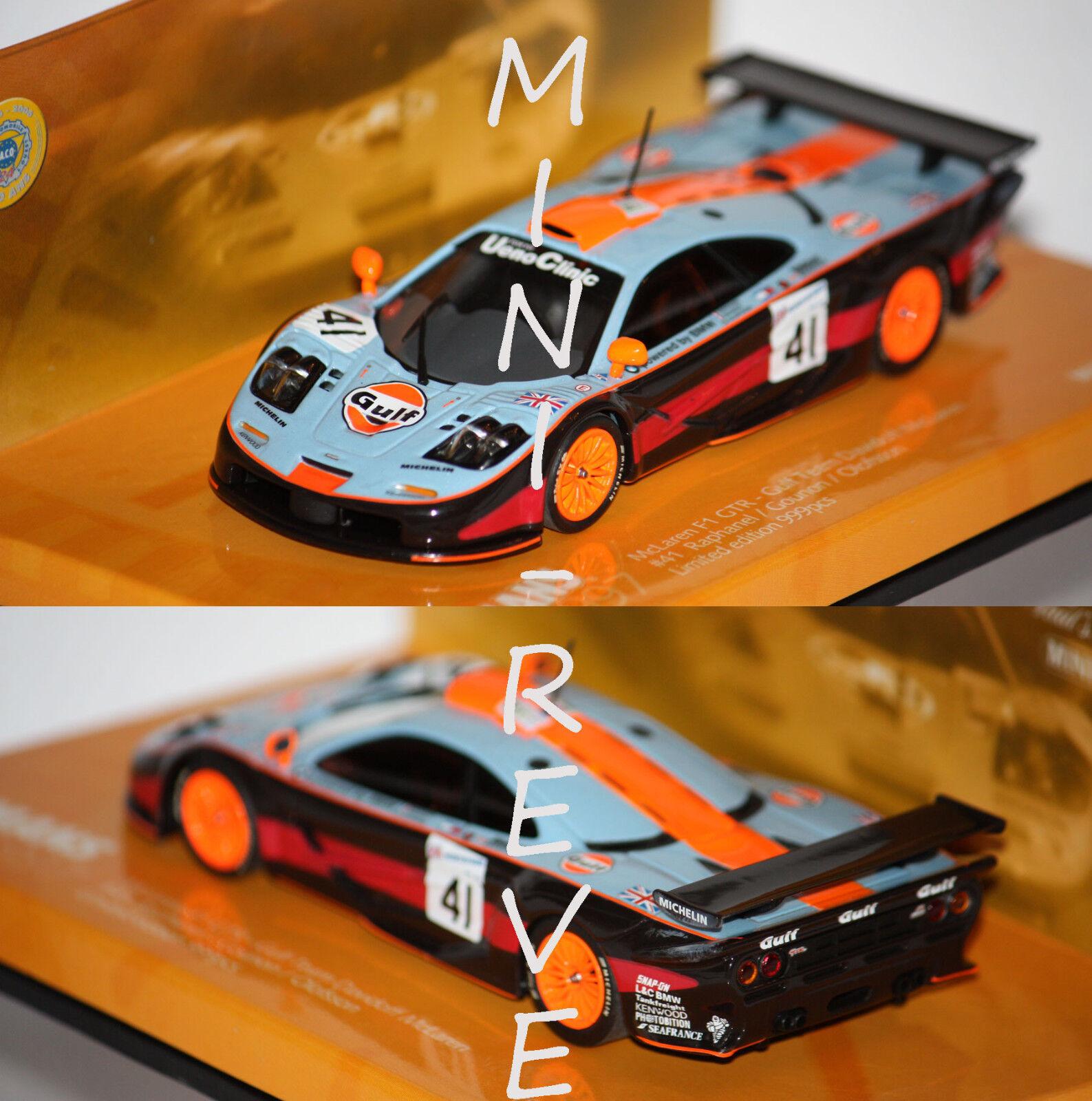 Minichamps McLaren  F1 GTR 24h du Mans 1997 1 43 533174341  grosses soldes