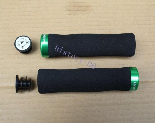 LINKBEAR Sponge MTB road bicycle flat bar soft Grip Bike Handlebar Lock-on Grips