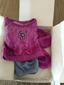 American-Girl-CHRISSA-039-S-PAJAMAS-Pajama-Set-w-Slippers-Brand-NEW-in-the-Box