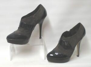 d92483d4816 CARVELA KURT GEIGER Leather Suede Very High Stiletto Heel Shoe Boots ...