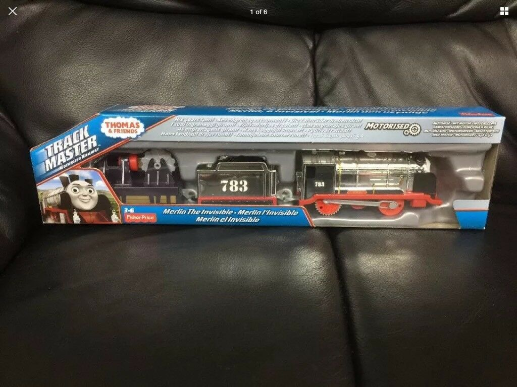 BNIB Thomas & Friends Track master Merlin The Invisible (Fast Dispatch)