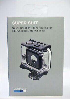 Hero 6 Hero 5 GoPro buceo carcasa de protección Super Traje Uber Para Hero 7 Negro