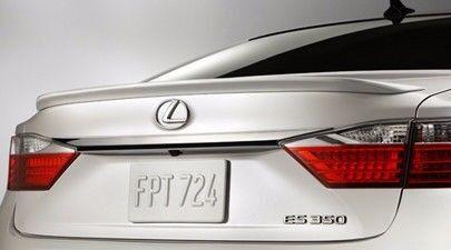 #566 PAINTED FACTORY STYLE SPOILER fits the 2013-2016 Lexus ES300// ES350