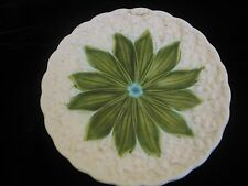Schramberg German SMF Pottery Majolica Lily of Valley Plate