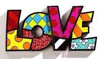 Romero Britto love Word Art Authentic