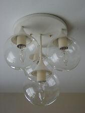 "Lightolier Light Fixture Mid Century Modern Lamp ""Reggiani"" ""Stemlite"" Vintage"