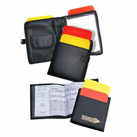 Diamond Deluxe Referee Note Pad - Referee Wallet - Referees Card Set Pack
