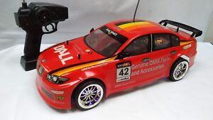 Vintage-1-10-Grande-Radio-Control-Remoto-RC-BMW-320si-E90-92-Drift-Car-Toy-DTM