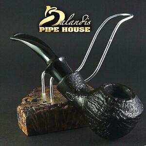 "Original Balandis "" VISCOUNT CARBO "" HAND MADE Briar wood Tobacco smoking pipe"