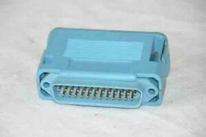 T-amp-B-Ansley-D-Sub-Dual-Row-DB25-25Pin-Male-Jack-IDC-Ribbon-Strap-Connector-Cover