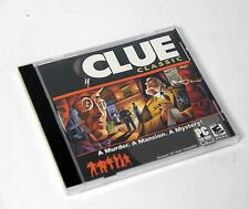 Clue Classic PC Cd-rom Game Works With Windows Vista XP Me 2009
