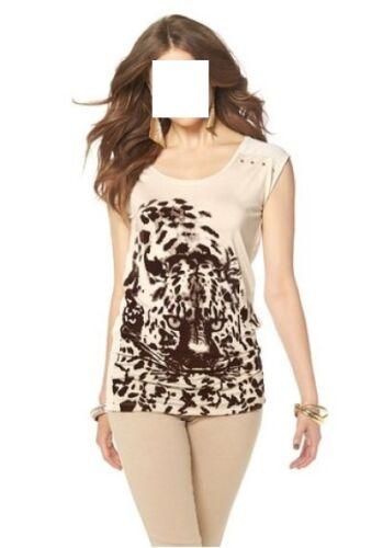 5/% Elasthan Laura Scott 95/% Viskose neu Shirt Gr.36