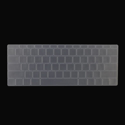 """Silicone Laptop Keyboard Cover Skin for Macbook Pro 13//15/"""" with Touch Bar 2016"""