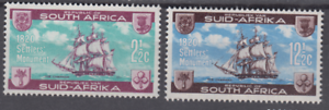 PP277-RSA-SOUTH-AFRICA-BRITISH-SETTLERS-ARRIVAL-ON-THE-SHIP-CHAPMAN-SC282-3-MNH