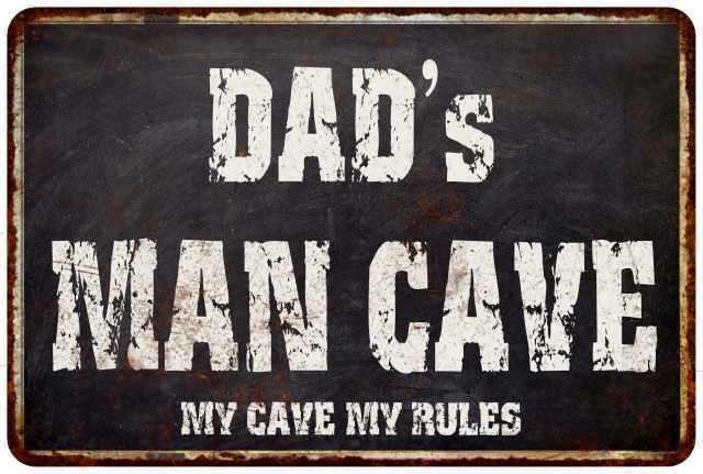PPFG0193 WARNING RICK/'S GARAGE Tin Chic Sign Home man cave Decor Funny Gift