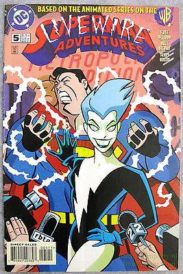 Superman Adventures 5 1st Appear Livewire Key Issue BIG PICS SuperGirl TV  Show!! | eBay
