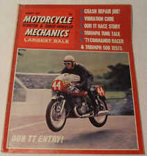 MC Mechanics August 1971 Matchless G50, Triumph Daytona 500, Norvil 750, BSA C25