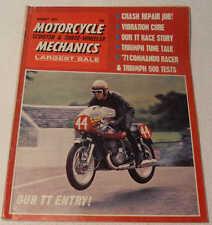 MC Mechanics August 1971 Matchless G50, Triumph Daytona 500, Norvil 750, BSA C25