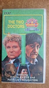 Doctor-Who-The-Two-Doctors-VHS-1993-Colin-Baker-amp-Patrick-Troughton