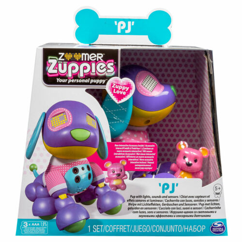Zoomer zuppies your personal puppy PJ interactive toy