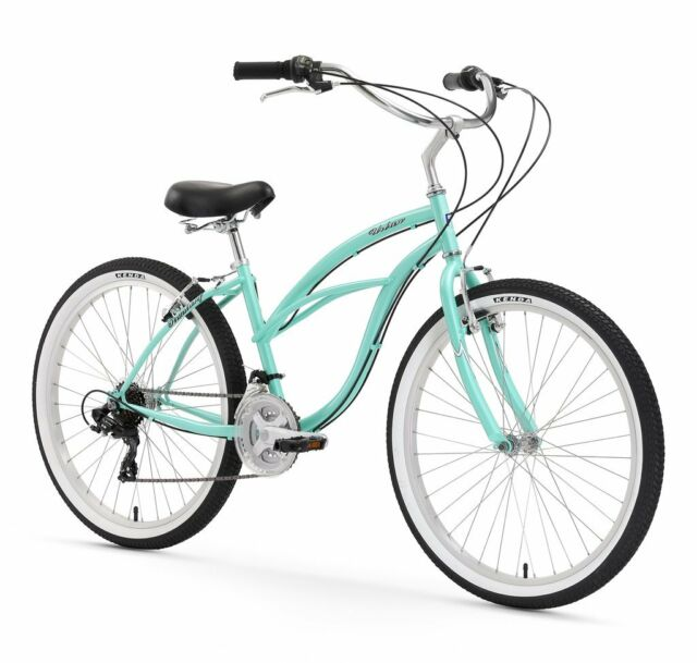 "Titan Bicycles Docksider 17/"" Frame Ladies Single Speed Cruiser 26/"" Wheels"