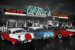 Al-Mac-039-s-Diner-Maxi-Poster-91-5cm-x-61cm-new-and-sealed