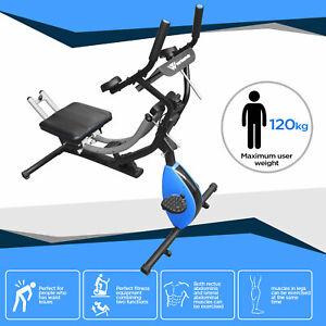 Abdominal Crunch Coaster Stationary Bike Fitness Equipment Workout Machine