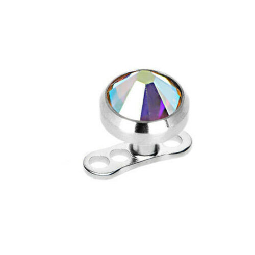 Dermal Top and Anchor pack of 22 with Cubic Zirconia 11 colors