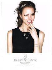 PUBLICITE ADVERTISING  2011   HARRY WINSTON joaillier