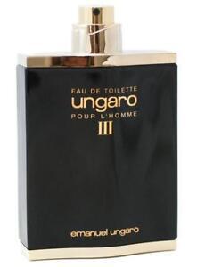 UNGARO-pour-L-039-HOMME-III-Cologne-3-4-oz-for-Men-New-tester
