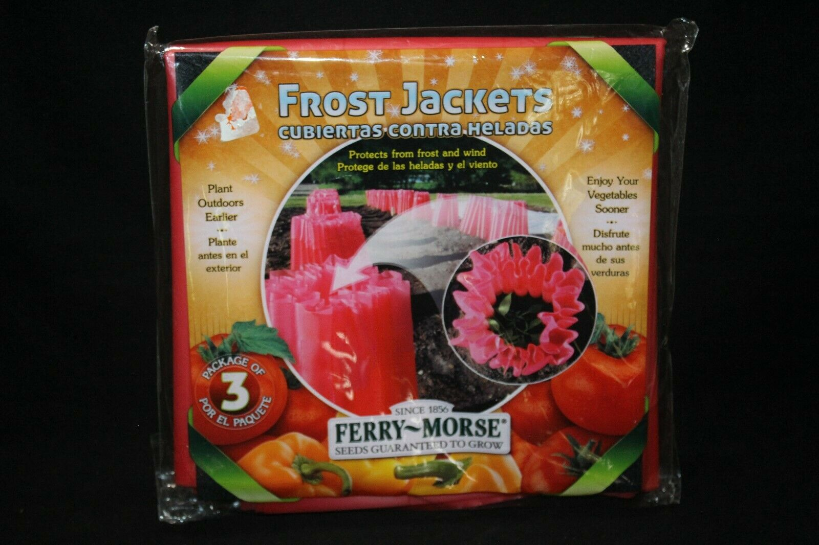 Ferry Morse Frost Jackets FOR PLANTS Three Frost Jackets Per Package