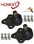 For MAZDA 2 2003-2007 FRONT WISHBONE CONTROL ARM BOTTOM BALLJOINTS X2