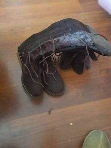 5 Stivali in scamosciata Misura marrone Clarks pelle 7 Pgf76Pq