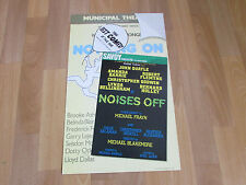 Amanda BARRIE & Lynda BELLINGHAM in Noises Off Comedy SAVOY Theatre Poster