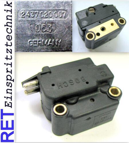 REGOLATORE DI PRESSIONE BOSCH 2437020007 MERCEDES BENZ W 201 pressione piatto KE-Jetronic