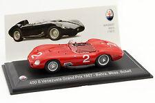 MASERATI 450 S #2 Venezuela GP 1957 Behra, Moss, Schell 1:43 LEO MODELS