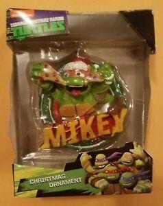 Ninja Turtle Christmas Tree.Details About Nib Teenage Mutant Ninja Turtles Tmnt Mikey Christmas Tree Ornament Nickelodeon