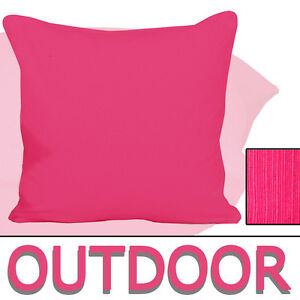 outdoor sitzkissen 50x50cm pink rosa wetterfest kissen lounge magenta 15cm dick ebay. Black Bedroom Furniture Sets. Home Design Ideas