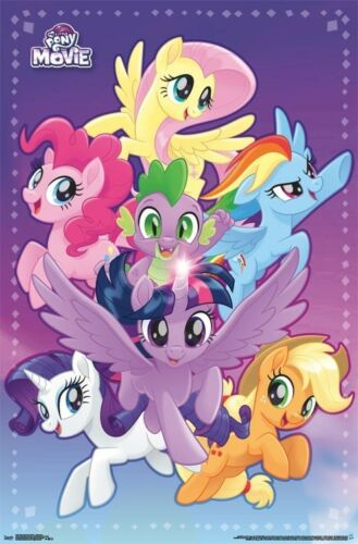 ADVENTURE MOVIE POSTER MY LITTLE PONY 22x34-15351