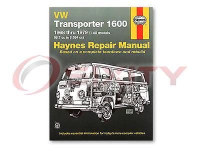 Volkswagen VW Transporter Haynes Repair Manual 265 Campmobile Kombi 215 261 ja