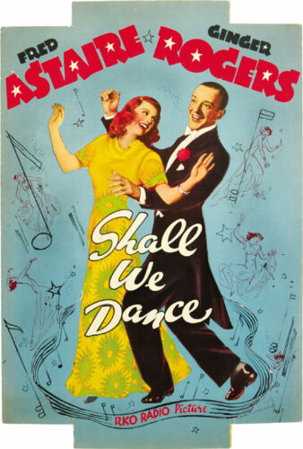 Shall we dance Fred Astaire #2 cult musical movie poster print