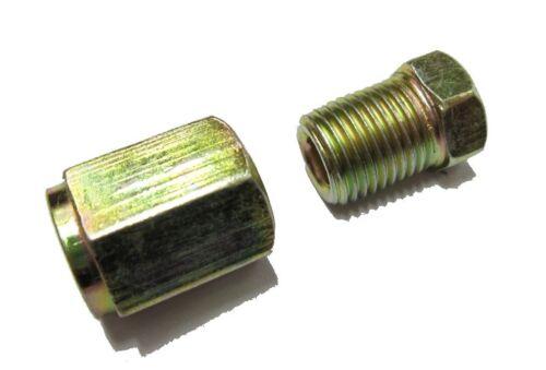 10mm x 1mm mâle F écrou femelle Pour 3//16 Tuyau cp049 10 chacun tuyau de frein th écrou